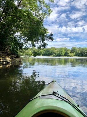 Kayak, Herrick Lake, Wheaton, IL