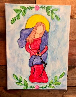 Watercolor Saints - Customizable - $40.00