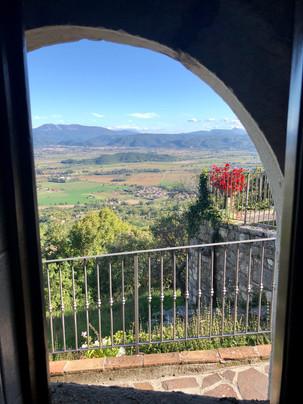 Inside Looking Out, Greccio, Italy