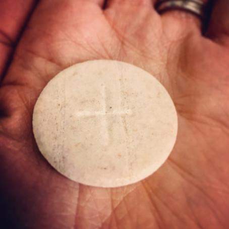 Eucharistic Bagel?