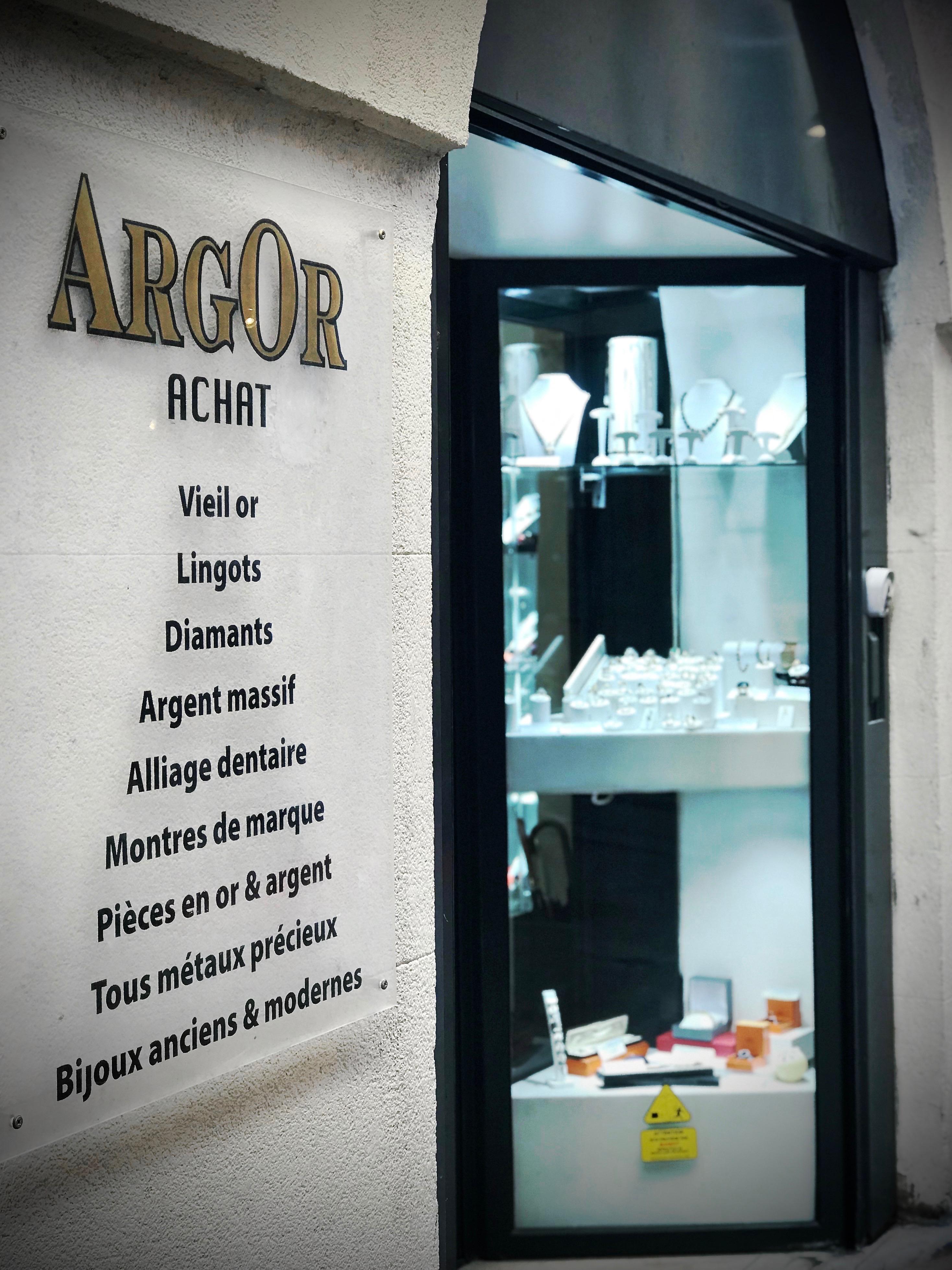 Argor Nîmes achat vente or