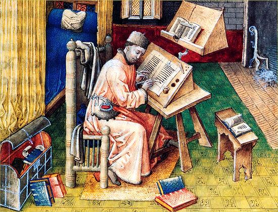 Copiste de la première Bible