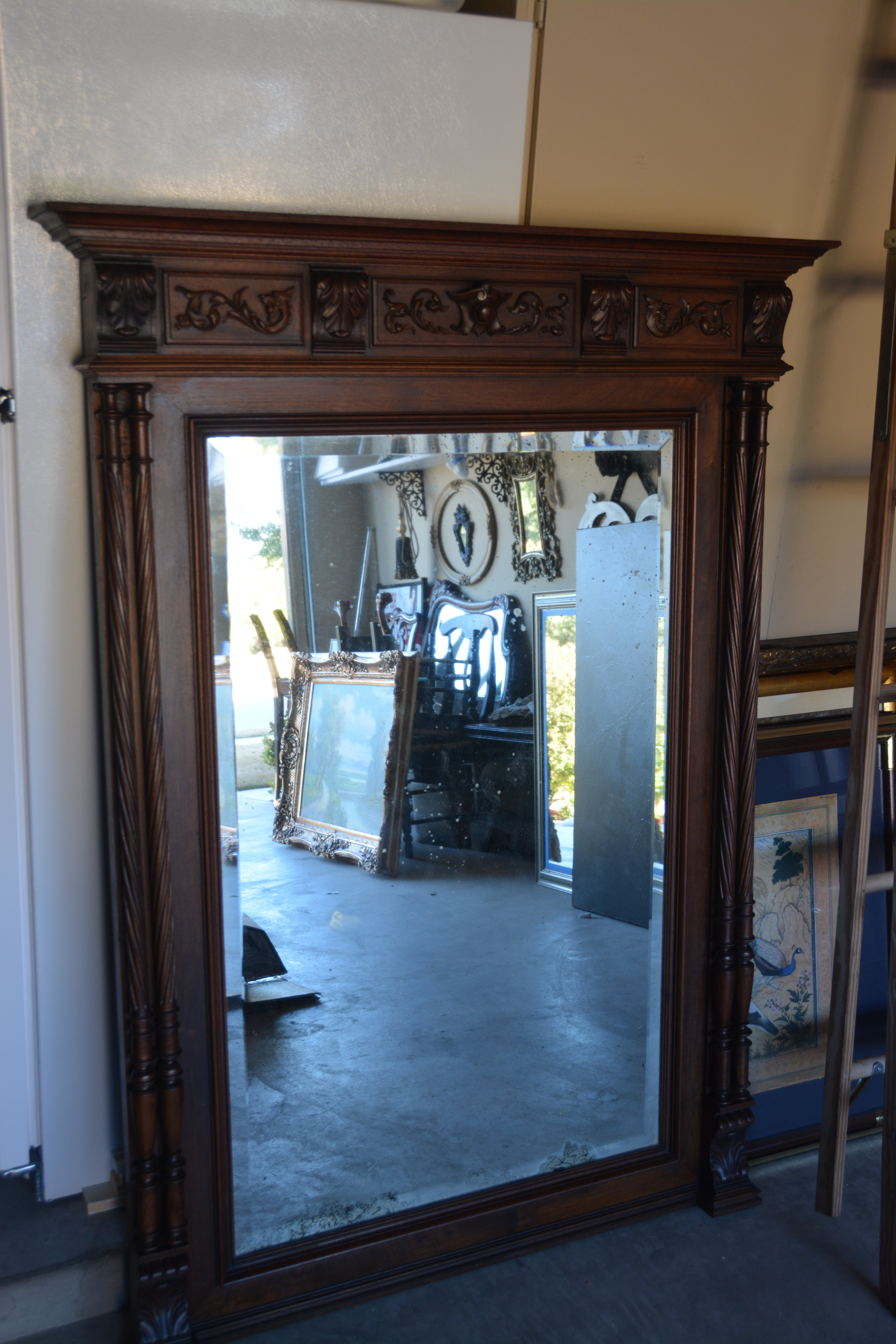 French Import Mirror - Sold
