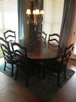 Dining Table & Chairs - Sold