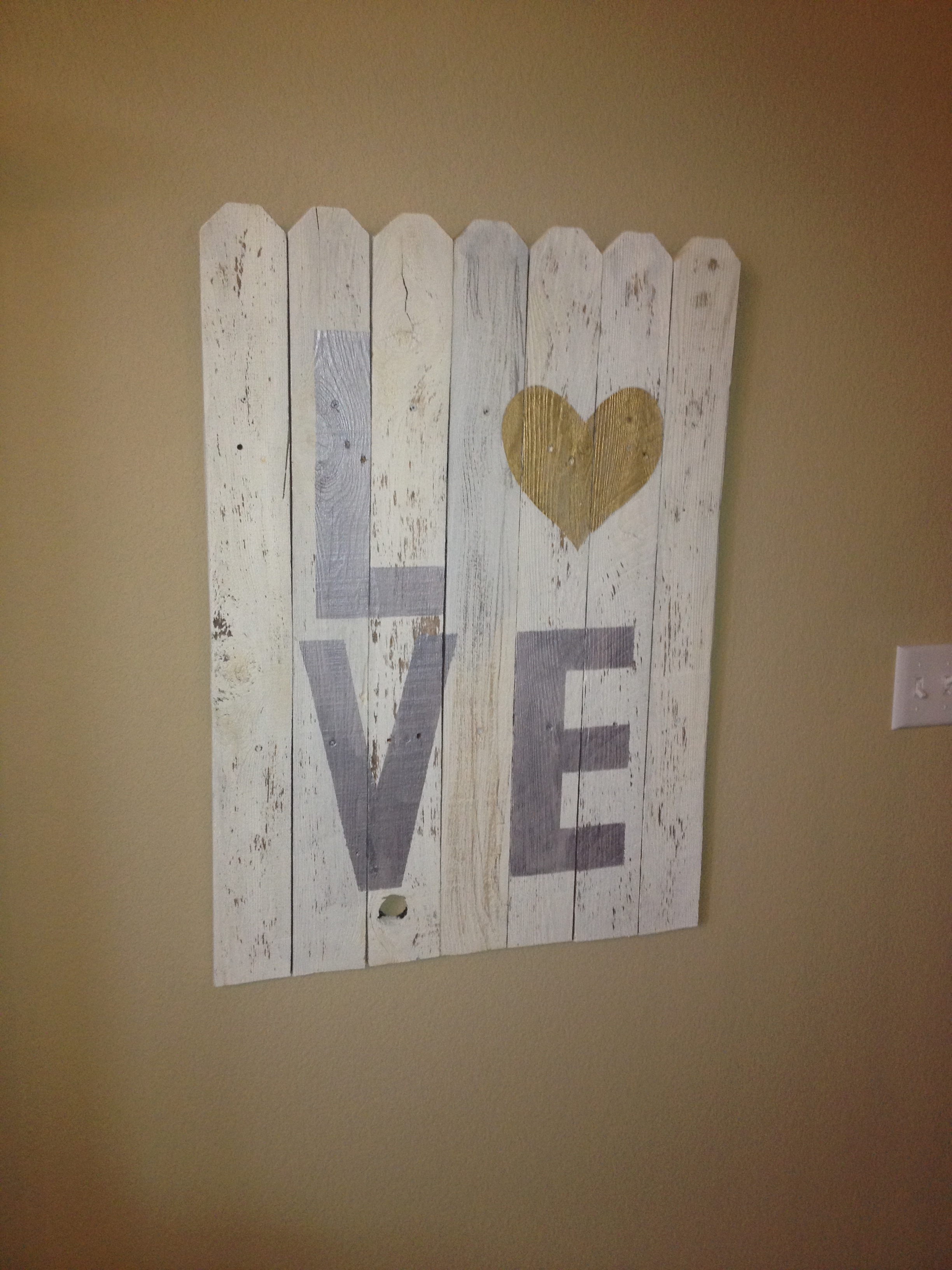 Fence Picket Signs ($75 & up)