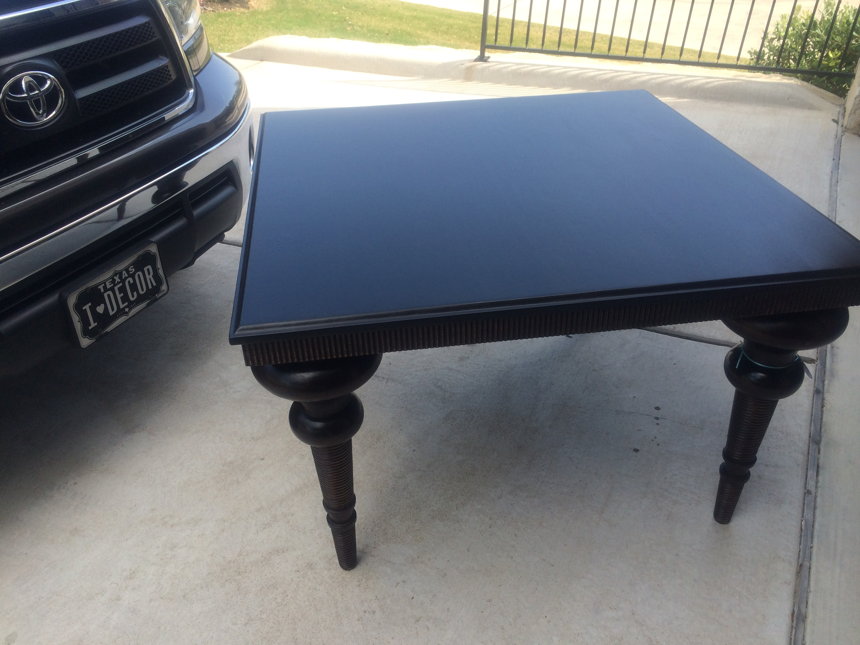 "48"" square Table - Sold"