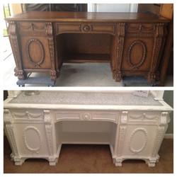 Heavy Relief Desk - Sold