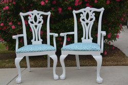 Chippendale Chairs - Sold