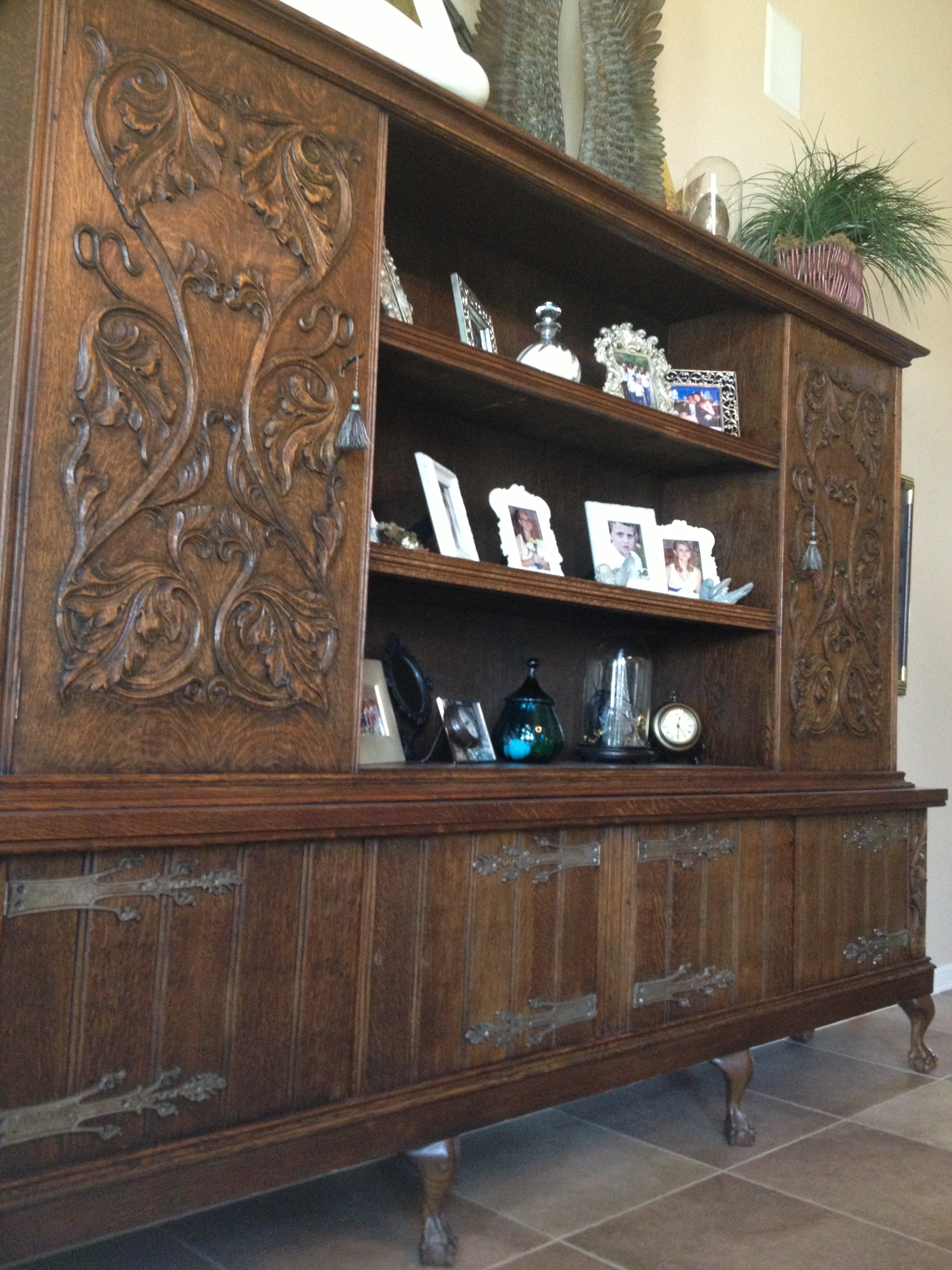 Oversized English Cabinet - Sold