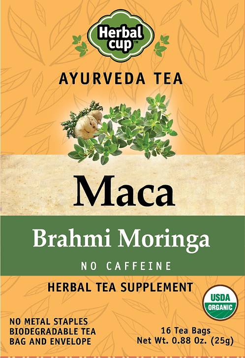 Maca - Brahmi Moringa