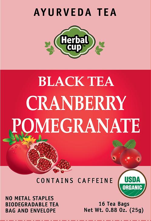 Black Tea - Cranberry Pomegranate