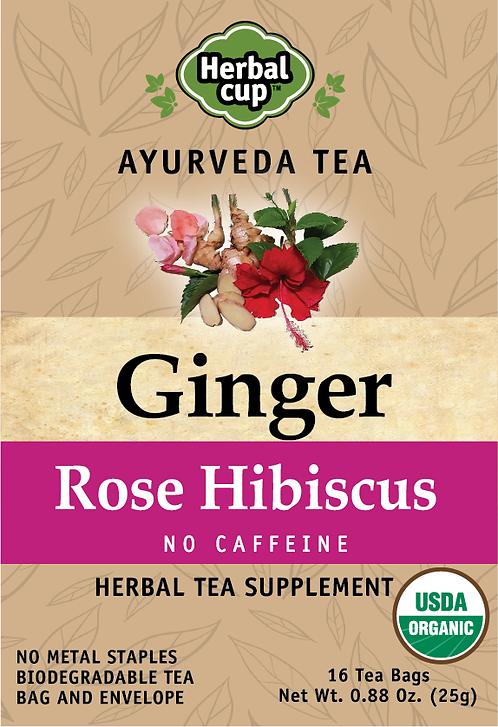 Ginger - Rose Hibiscus