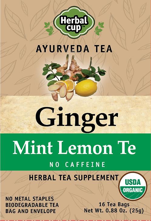 Ginger - Mint Lemon