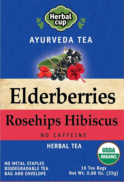 Elderberries - Rosehips Hibiscus