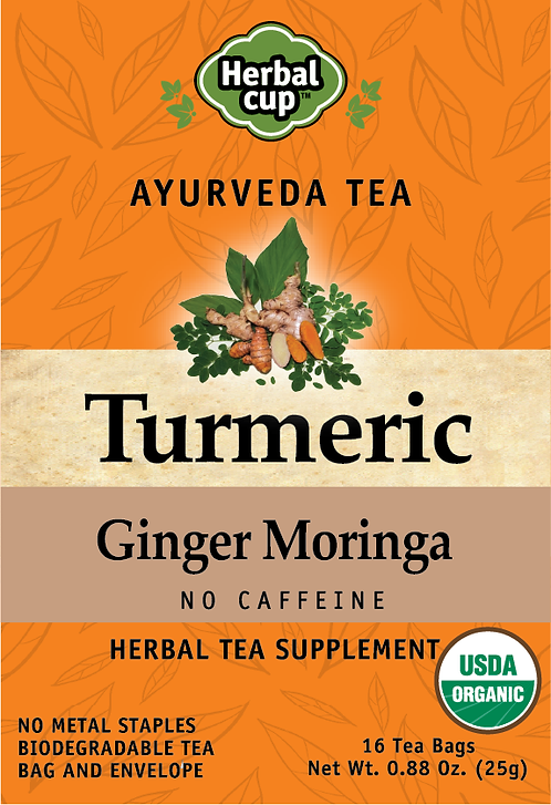 Turmeric - Ginger Moringa