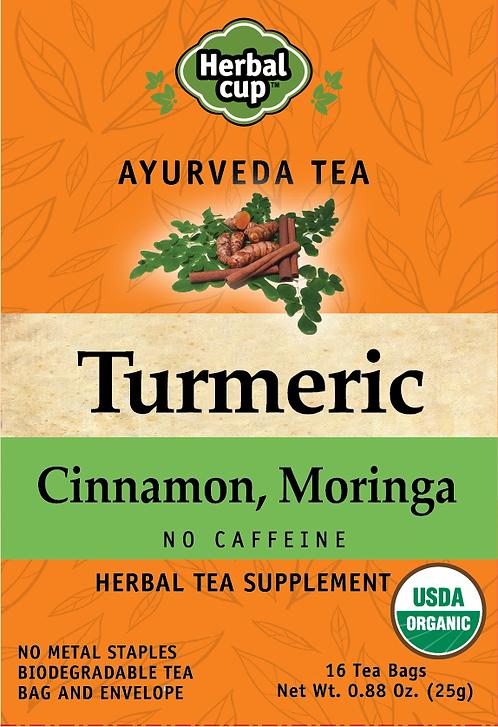 Turmeric - Cinnamon, Moringa