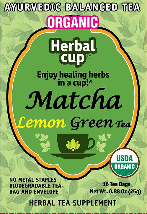 Matcha - Lemon Green Tea