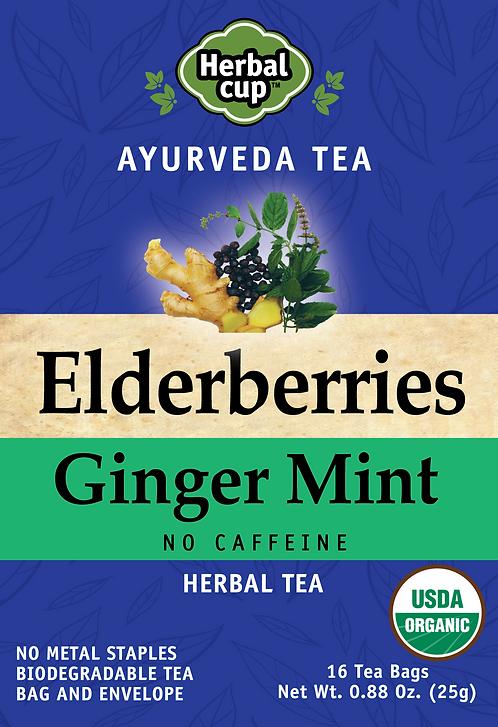 Elderberries - Ginger Mint