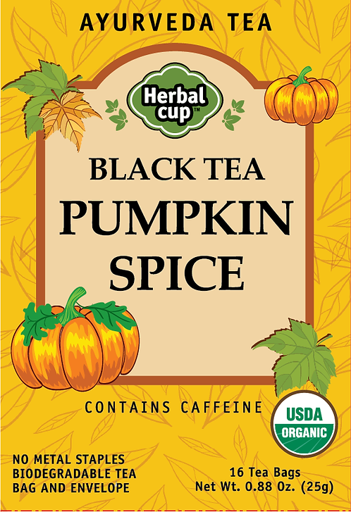 Black Tea - Pumpkin Spice