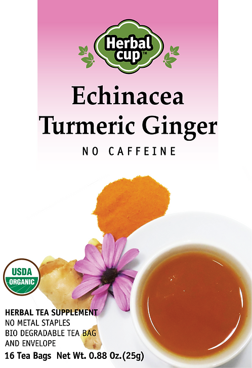Echinacea - Turmeric Ginger