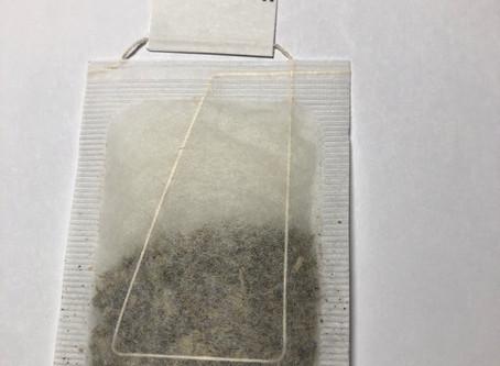 Aluminum / metal free tea bags.
