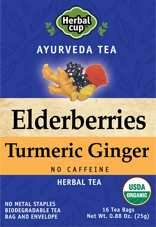 Elderberries - Turmeric Ginger