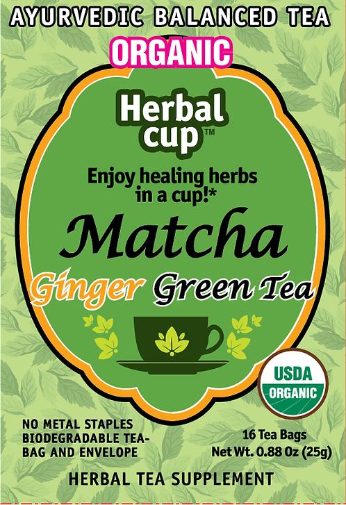 Matcha - Ginger Green Tea