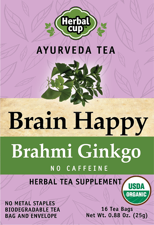Brain Happy - Brahmi Ginkgo