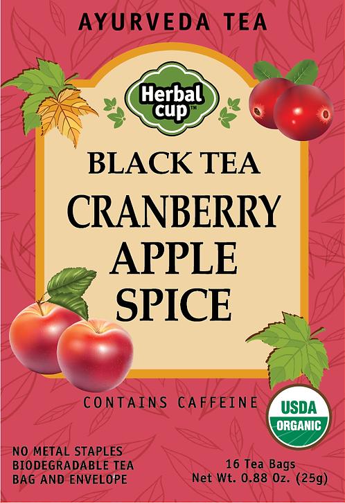 Black Tea - Cranberry Apple Spice