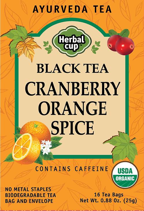 Black Tea - Cranberry Orange Spice