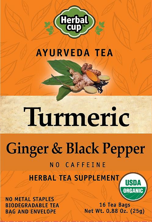 Turmeric - Ginger & Black Pepper