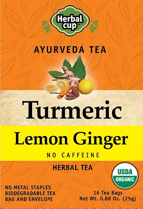Turmeric - Lemon Ginger