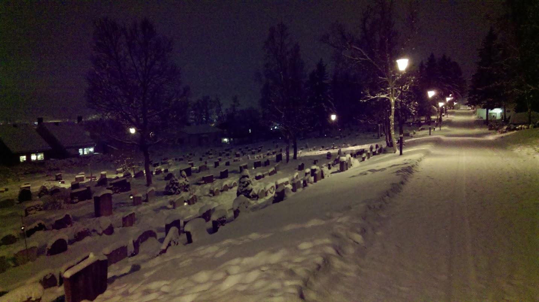 Exploring Cemetery Tromsø