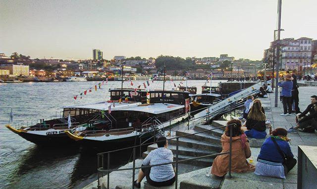 Porto with wine
