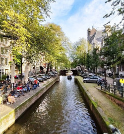 Cafes and Canals - Amsterdam_Budapest -