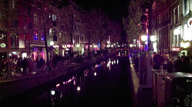 Long walks - Red light district - Amsterdam