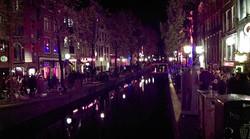 Long walks - Red light district - Amsterdam