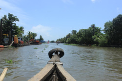 On our Way to House Boat