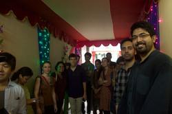 At Sourav House