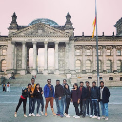 Our visit to the Reichstag , The German Parliament was truly insightful for giving an introduction t