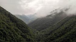 Morning Run view . Cherrapunji , Megahalaya_._. ._