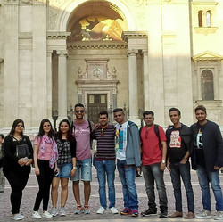 People who joined us on this journey from different parts of India. A moment captured during our wal