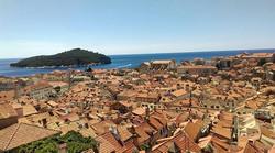 Morning Walk along the walls of Dubrovnik - While Walking - II _#Dubrovnik #BackpackEurope