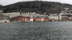 Bryggen - known for its beautiful wooden houses , unique architecture and beautiful small cafes& sho