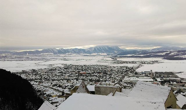 Morning View from Rasnov Citadel