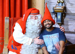 Santa said keep smiling and enjoy life to the fullest._._._ Merry Christmas friends and God bless ._