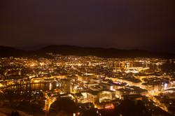 Bergen from Mt.Fløyen