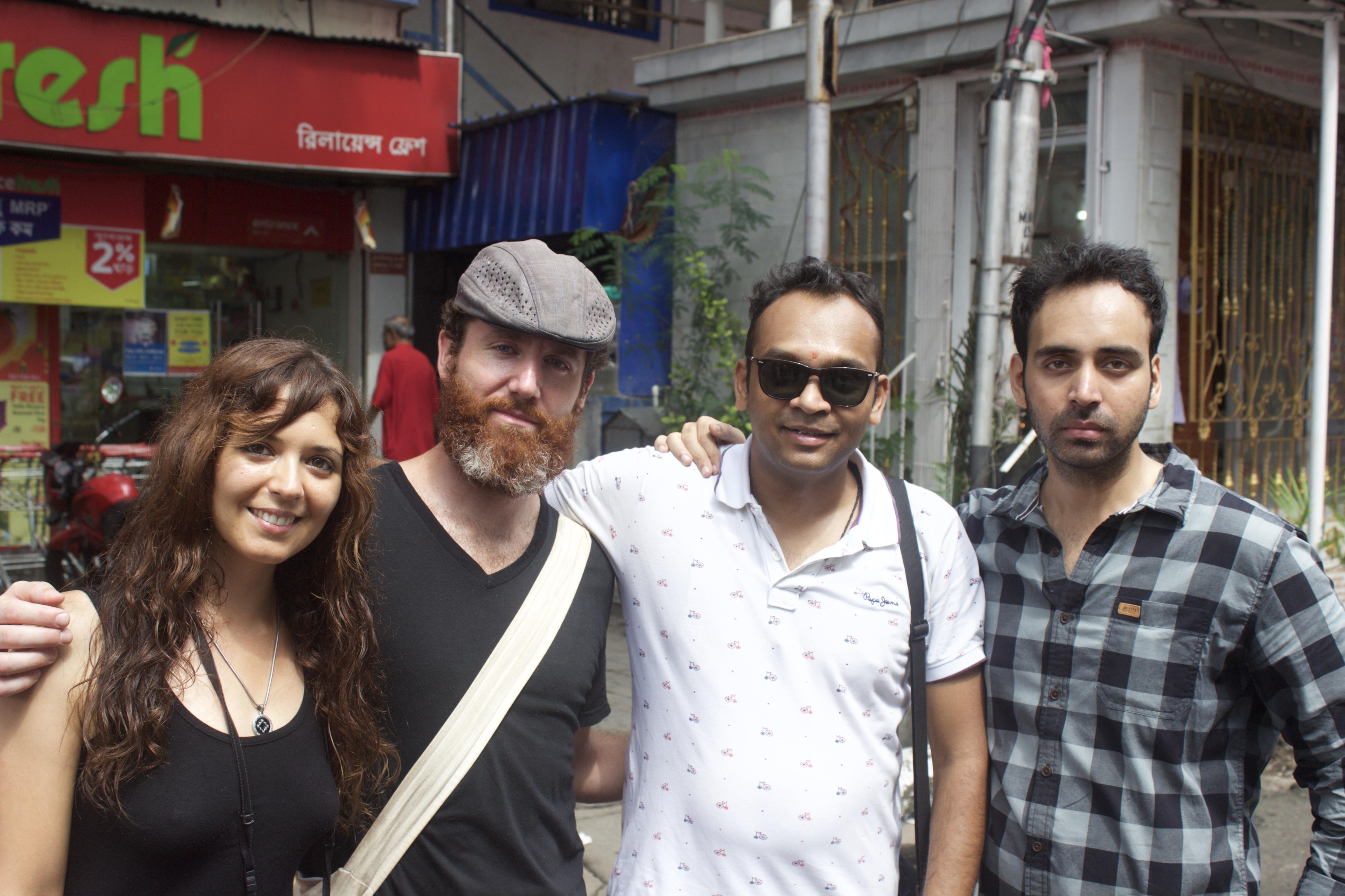 Claudia & Pedro & Me & Subh