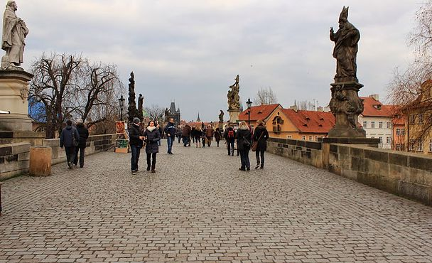 Charles Bridge , Prague