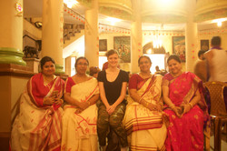 Chiara with local House women